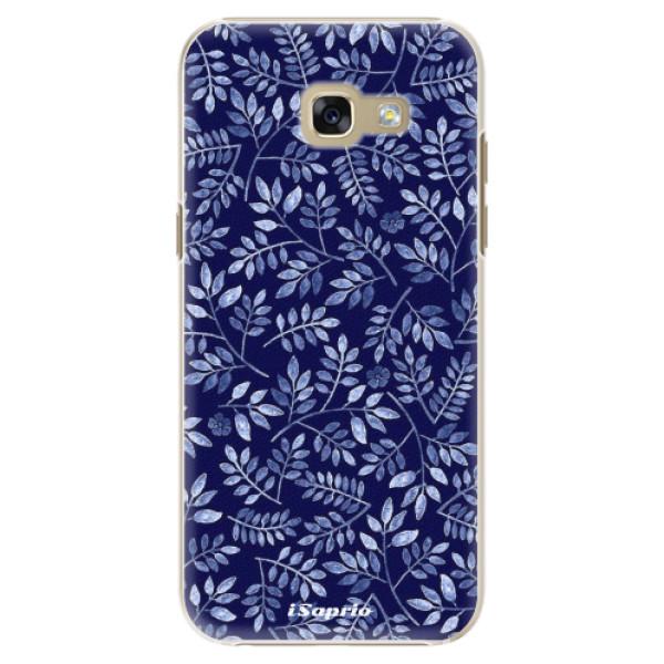 Plastové puzdro iSaprio - Blue Leaves 05 - Samsung Galaxy A5 2017
