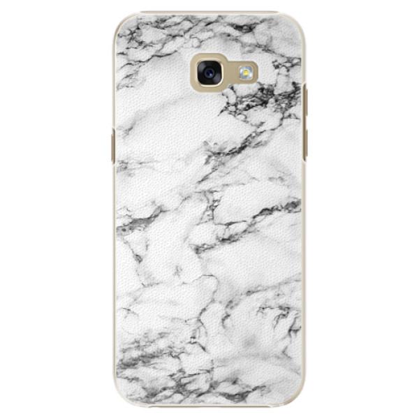 Plastové puzdro iSaprio - White Marble 01 - Samsung Galaxy A5 2017