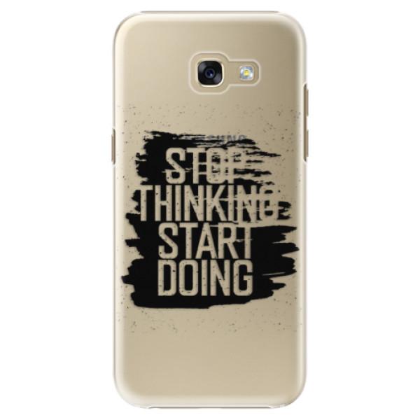 Plastové puzdro iSaprio - Start Doing - black - Samsung Galaxy A5 2017