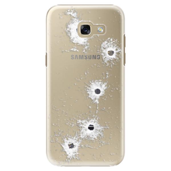 Plastové puzdro iSaprio - Gunshots - Samsung Galaxy A5 2017