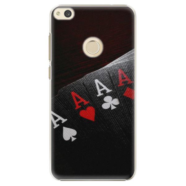 Plastové puzdro iSaprio - Poker - Huawei P8 Lite 2017
