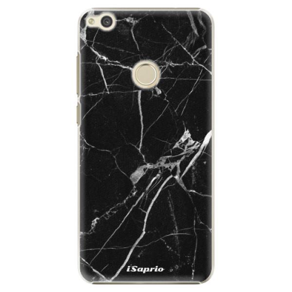 Plastové puzdro iSaprio - Black Marble 18 - Huawei P9 Lite 2017