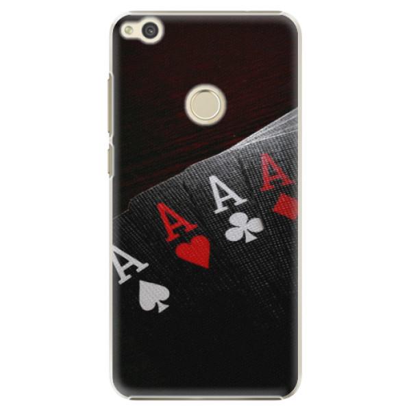 Plastové puzdro iSaprio - Poker - Huawei P9 Lite 2017