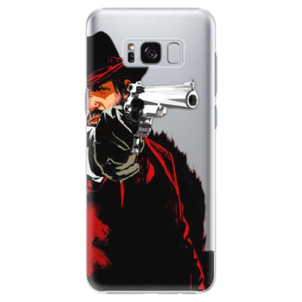 Plastové puzdro iSaprio - Red Sheriff - Samsung Galaxy S8