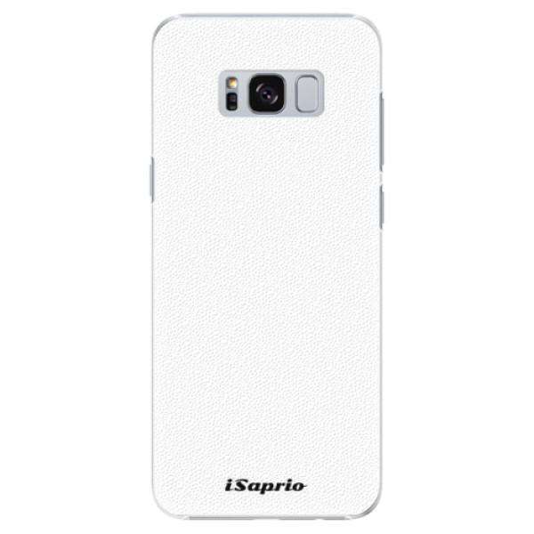 Plastové puzdro iSaprio - 4Pure - bílý - Samsung Galaxy S8