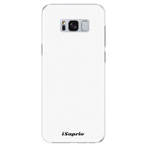 Plastové puzdro iSaprio - 4Pure - bílý - Samsung Galaxy S8 Plus