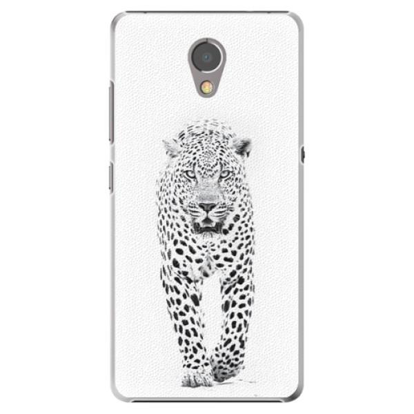 Plastové puzdro iSaprio - White Jaguar - Lenovo P2