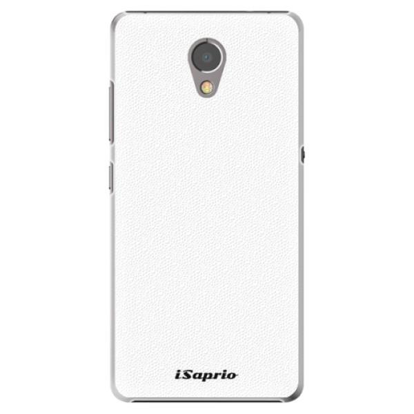 Plastové puzdro iSaprio - 4Pure - bílý - Lenovo P2