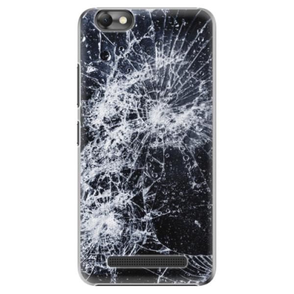 Plastové puzdro iSaprio - Cracked - Lenovo Vibe C