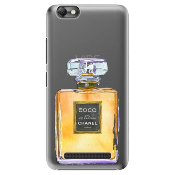 Plastové puzdro iSaprio - Chanel Gold - Lenovo Vibe C