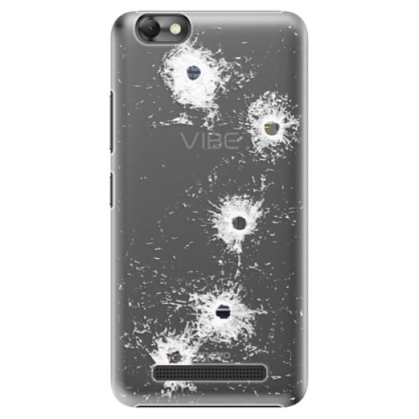 Plastové puzdro iSaprio - Gunshots - Lenovo Vibe C
