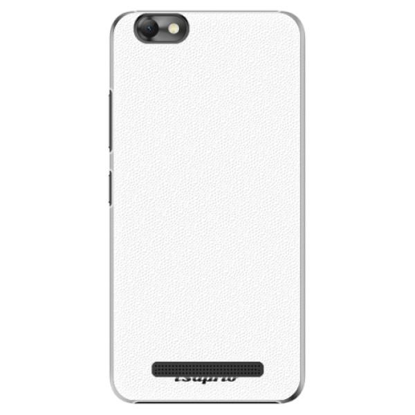 Plastové puzdro iSaprio - 4Pure - bílý - Lenovo Vibe C
