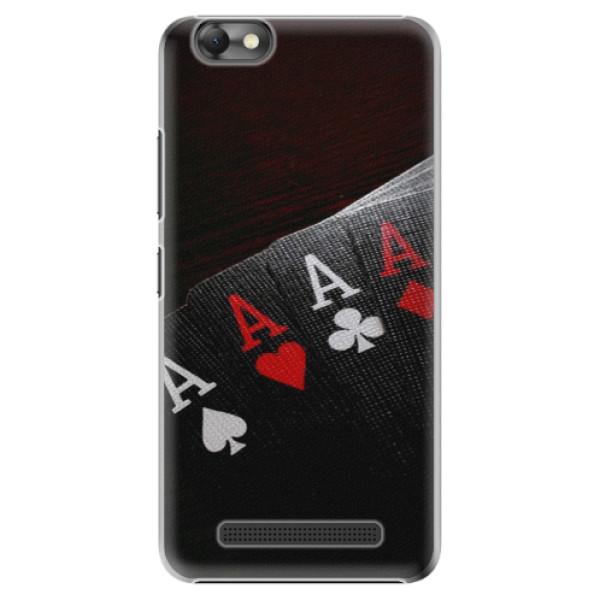 Plastové puzdro iSaprio - Poker - Lenovo Vibe C