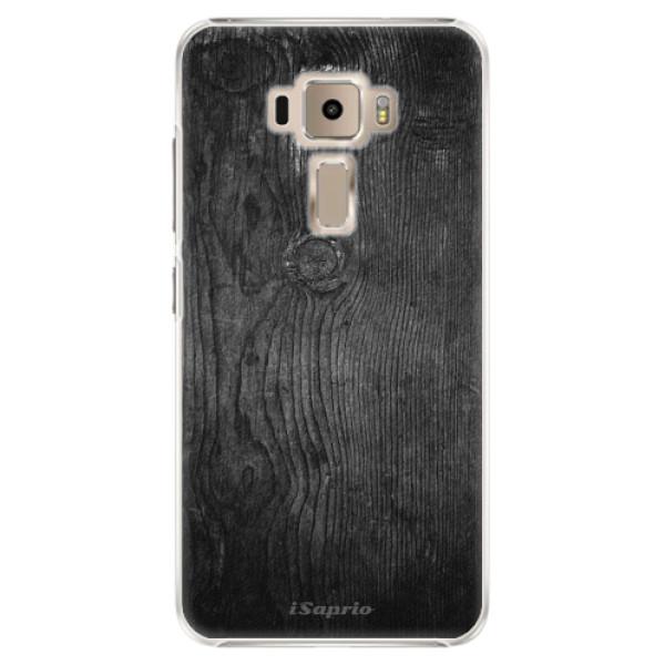 Plastové puzdro iSaprio - Black Wood 13 - Asus ZenFone 3 ZE520KL