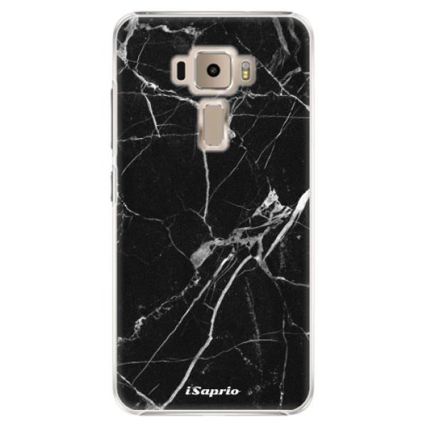 Plastové puzdro iSaprio - Black Marble 18 - Asus ZenFone 3 ZE520KL