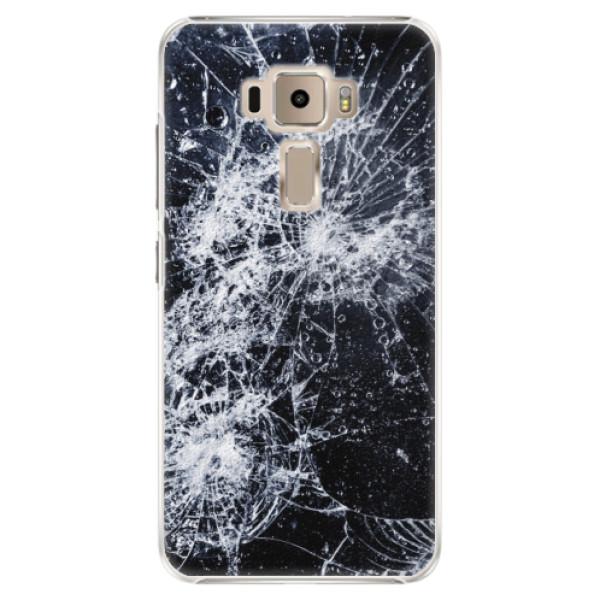 Plastové puzdro iSaprio - Cracked - Asus ZenFone 3 ZE520KL