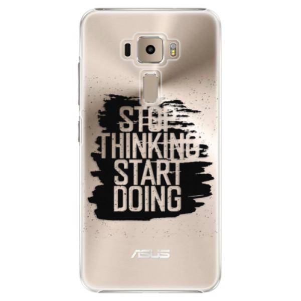 Plastové puzdro iSaprio - Start Doing - black - Asus ZenFone 3 ZE520KL