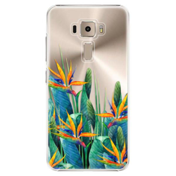 Plastové puzdro iSaprio - Exotic Flowers - Asus ZenFone 3 ZE520KL