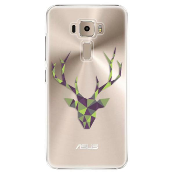 Plastové puzdro iSaprio - Deer Green - Asus ZenFone 3 ZE520KL