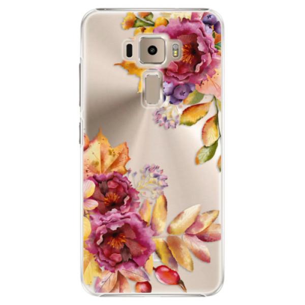 Plastové puzdro iSaprio - Fall Flowers - Asus ZenFone 3 ZE520KL
