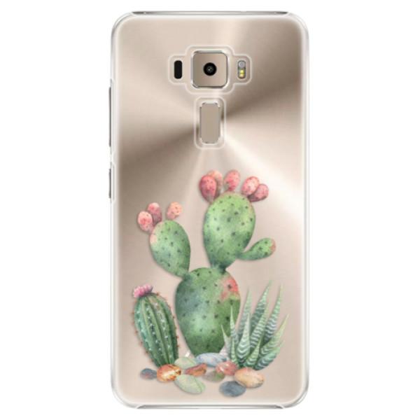 Plastové puzdro iSaprio - Cacti 01 - Asus ZenFone 3 ZE520KL