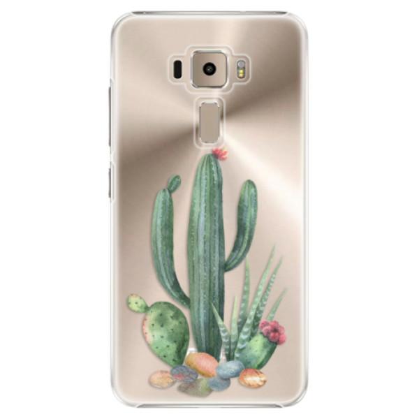 Plastové puzdro iSaprio - Cacti 02 - Asus ZenFone 3 ZE520KL