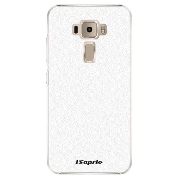 Plastové puzdro iSaprio - 4Pure - bílý - Asus ZenFone 3 ZE520KL