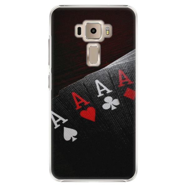 Plastové puzdro iSaprio - Poker - Asus ZenFone 3 ZE520KL