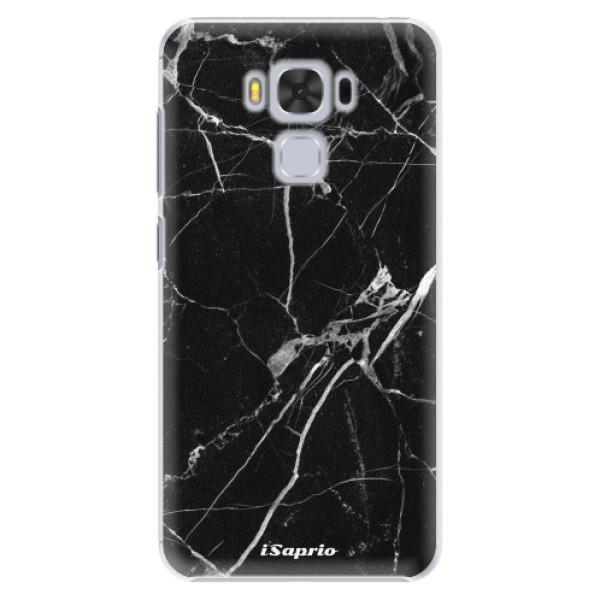Plastové puzdro iSaprio - Black Marble 18 - Asus ZenFone 3 Max ZC553KL