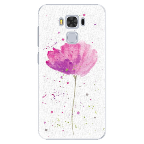 Plastové puzdro iSaprio - Poppies - Asus ZenFone 3 Max ZC553KL