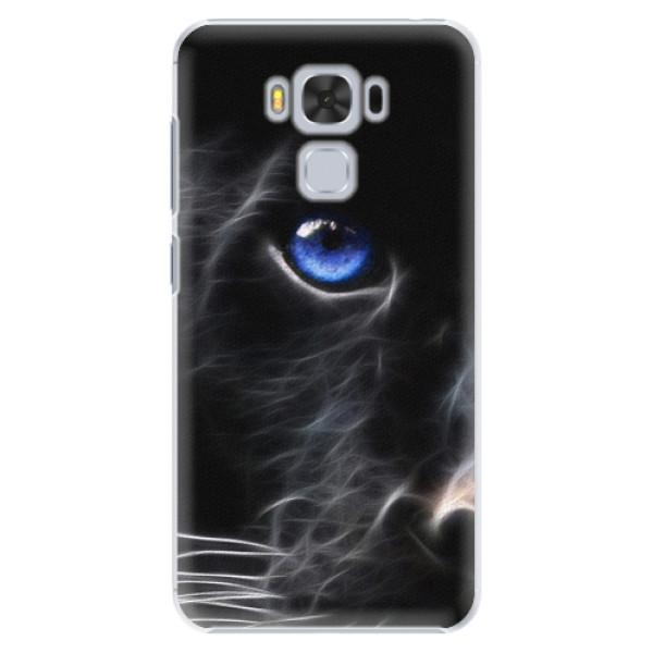 Plastové puzdro iSaprio - Black Puma - Asus ZenFone 3 Max ZC553KL