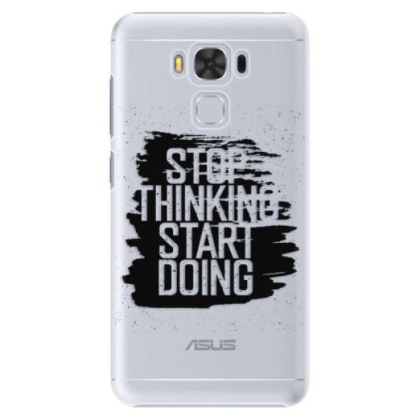 Plastové puzdro iSaprio - Start Doing - black - Asus ZenFone 3 Max ZC553KL
