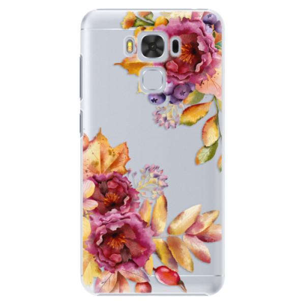 Plastové puzdro iSaprio - Fall Flowers - Asus ZenFone 3 Max ZC553KL