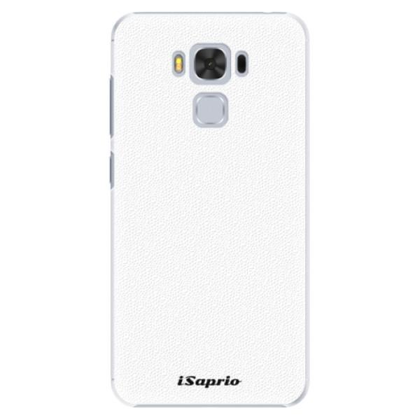 Plastové puzdro iSaprio - 4Pure - bílý - Asus ZenFone 3 Max ZC553KL
