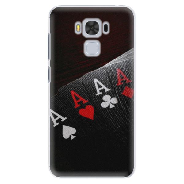 Plastové puzdro iSaprio - Poker - Asus ZenFone 3 Max ZC553KL