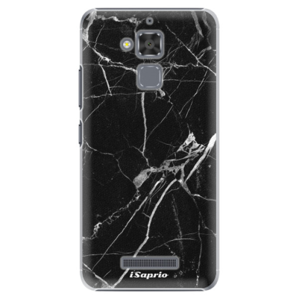 Plastové puzdro iSaprio - Black Marble 18 - Asus ZenFone 3 Max ZC520TL