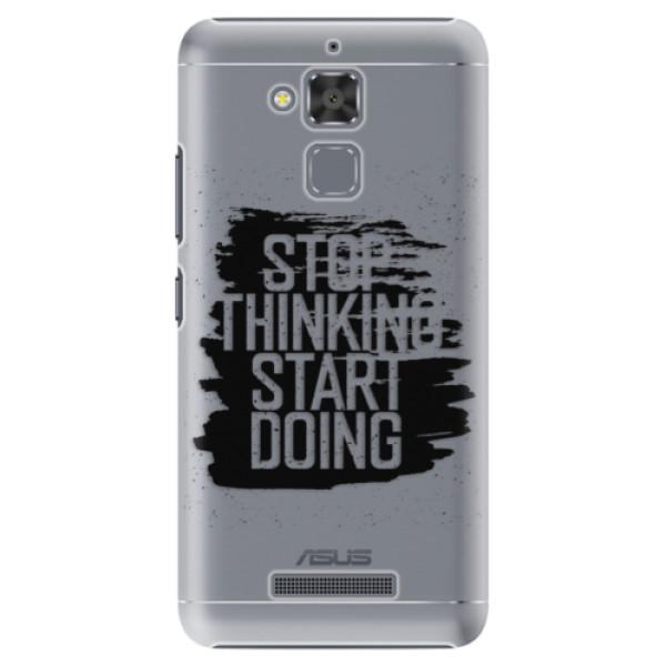 Plastové puzdro iSaprio - Start Doing - black - Asus ZenFone 3 Max ZC520TL