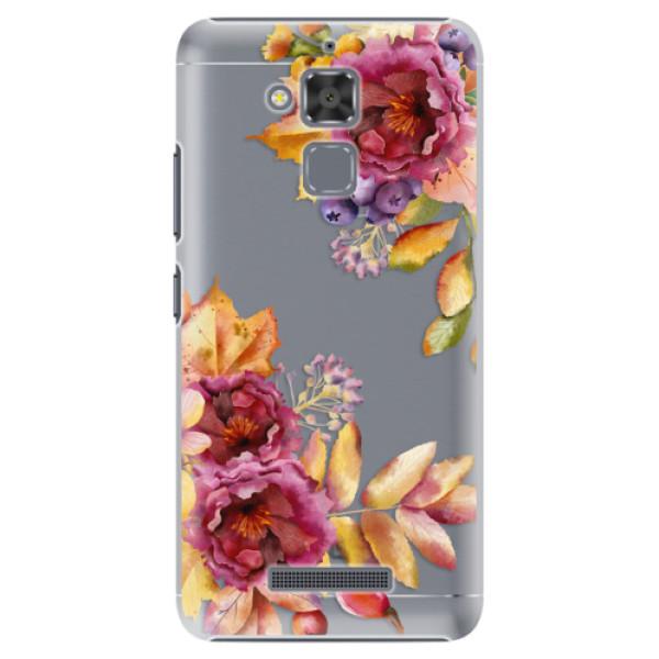 Plastové puzdro iSaprio - Fall Flowers - Asus ZenFone 3 Max ZC520TL