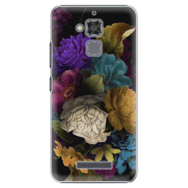 Plastové puzdro iSaprio - Dark Flowers - Asus ZenFone 3 Max ZC520TL