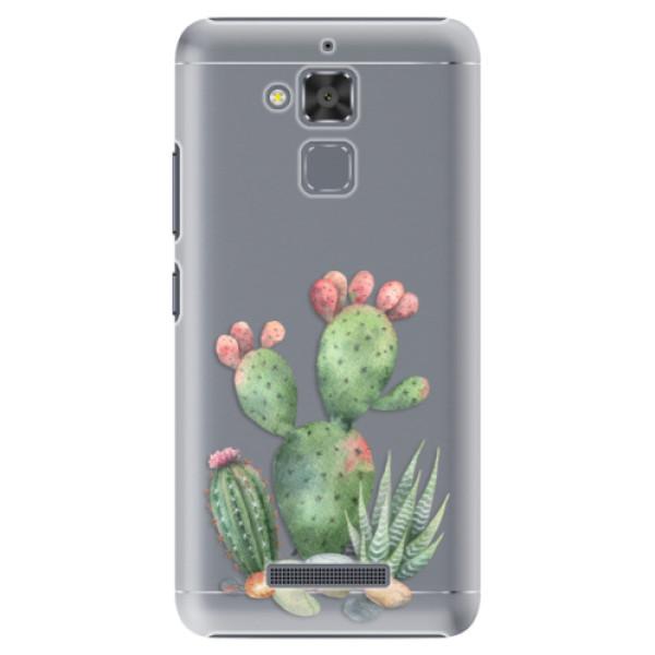 Plastové puzdro iSaprio - Cacti 01 - Asus ZenFone 3 Max ZC520TL