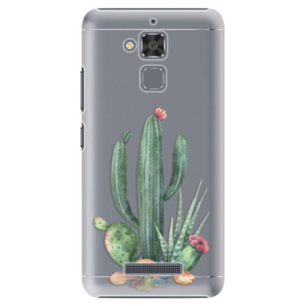 Plastové puzdro iSaprio - Cacti 02 - Asus ZenFone 3 Max ZC520TL