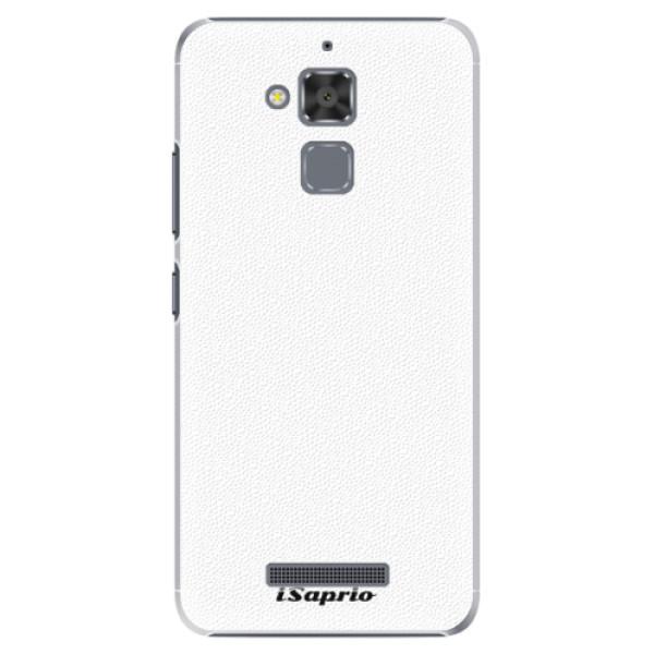 Plastové puzdro iSaprio - 4Pure - bílý - Asus ZenFone 3 Max ZC520TL