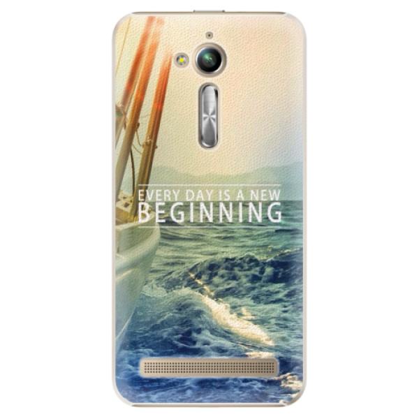 Plastové puzdro iSaprio - Beginning - Asus ZenFone Go ZB500KL
