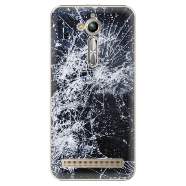 Plastové puzdro iSaprio - Cracked - Asus ZenFone Go ZB500KL