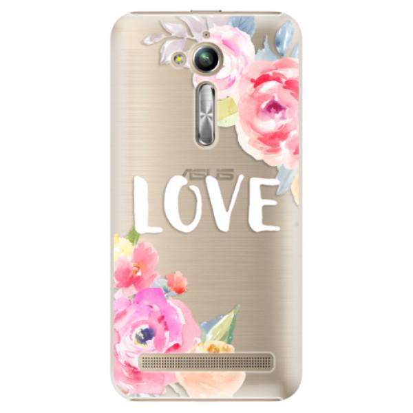 Plastové puzdro iSaprio - Love - Asus ZenFone Go ZB500KL