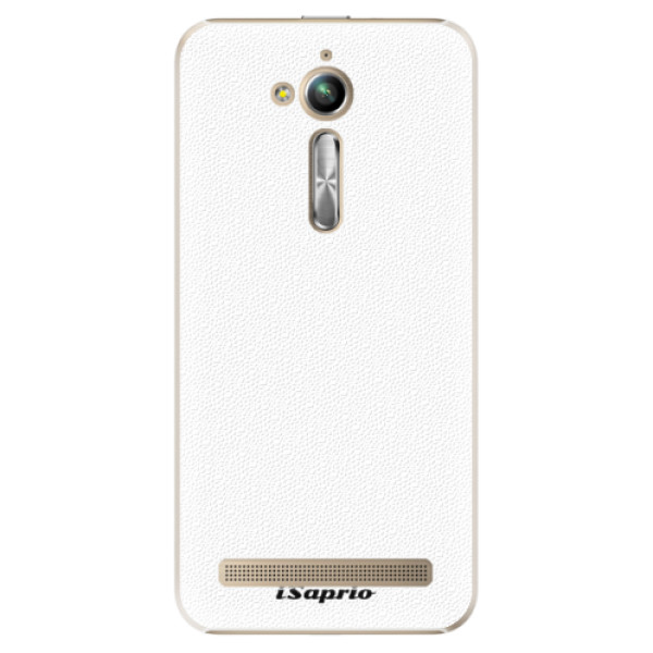 Plastové puzdro iSaprio - 4Pure - bílý - Asus ZenFone Go ZB500KL