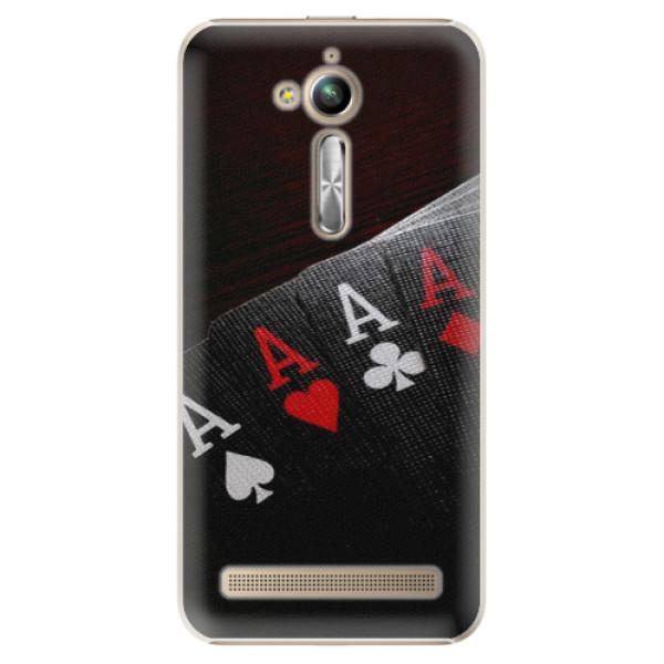 Plastové puzdro iSaprio - Poker - Asus ZenFone Go ZB500KL