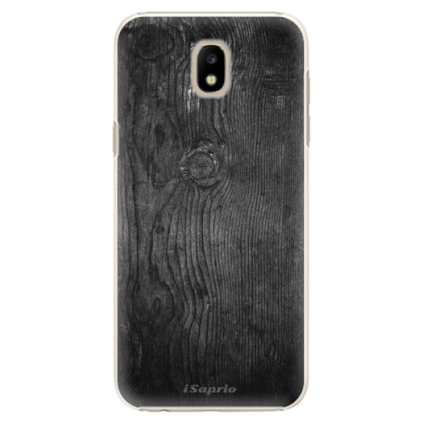 Plastové puzdro iSaprio - Black Wood 13 - Samsung Galaxy J5 2017