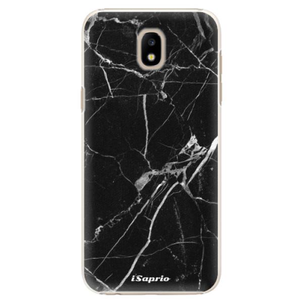Plastové puzdro iSaprio - Black Marble 18 - Samsung Galaxy J5 2017