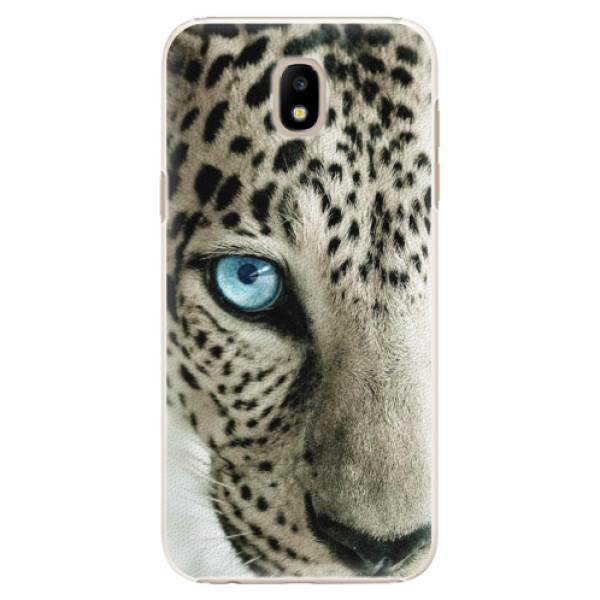 Plastové puzdro iSaprio - White Panther - Samsung Galaxy J5 2017